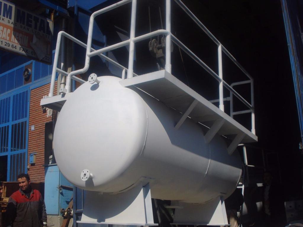 hidrolik ünite tankı
